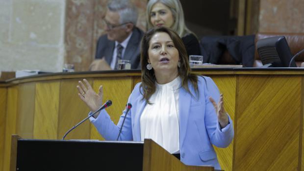 La portavoz del PP andaluz, Carmen Crespo.