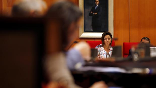 La alcaldesa preside un Pleno municipal