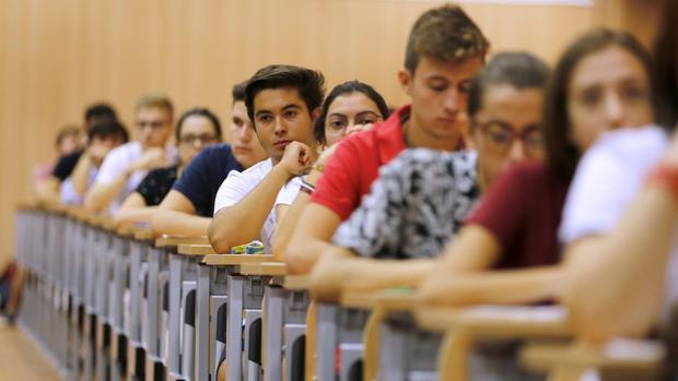 Imagen de la selectividad en la Universidad de Córdoba