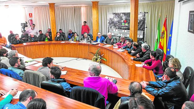 Constitución de la comunidad de usuarios de agua de Los Pedroches