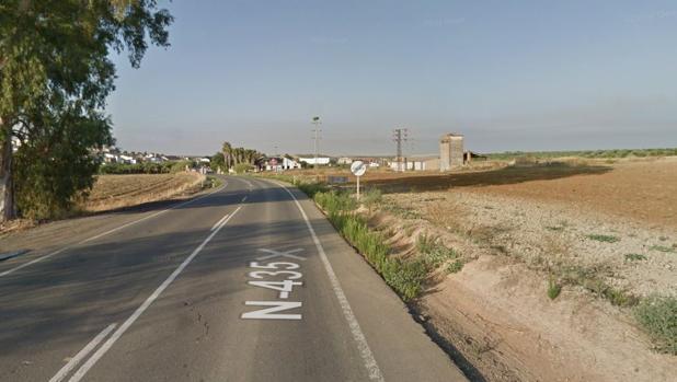 La carretera N-435 es una de las más peligrosas de España