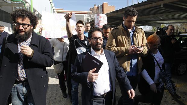 David Moscoso, camino de los juzgados para declarar por el caso de Guadalquivir Futuro