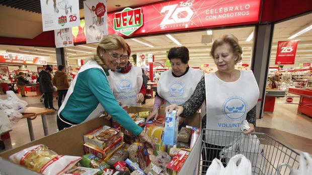 Recogida solidaria del Banco de Alimentos
