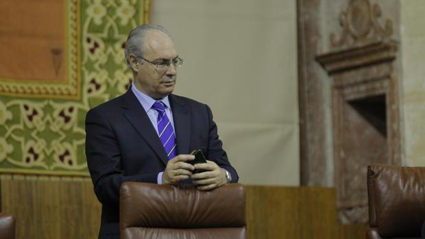 El presidente del Parlamento, Juan Pablo Durán