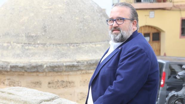 Manuel Garrido, hermano mayor del Perdón