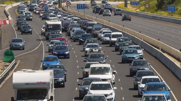La A-49 será una de las carreteras más transitadas estos días