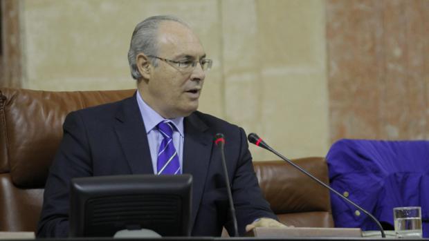 Juan Pablo Durán es presidente del Parlamento de Andalucía