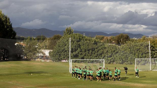 El Córdoba, en la ciudad deportiva