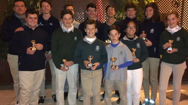 Los canteranos del Real Club de Campo de Córdoba de golf