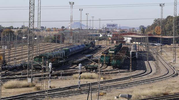 Imagen de la estación de mercancías ferroviarias de El Higuerón en Córdoba