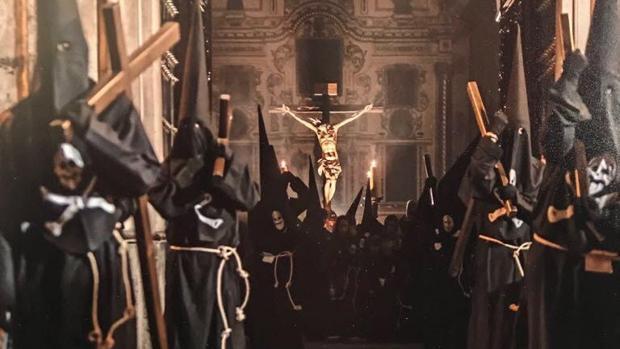 Fotografía del Cristo del Socorro, de Cabra