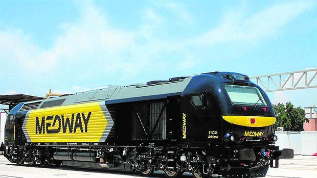 Locomotora Euro 4000 recientemente adquirida por Medway