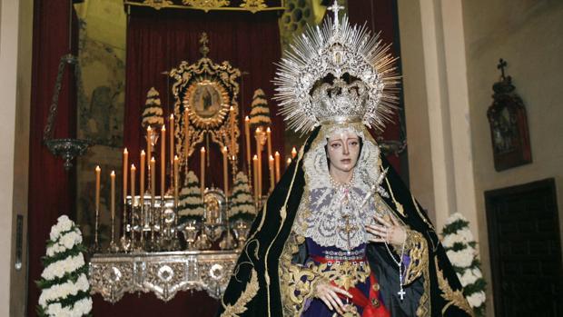 Besamanos de la Virgen de la Concepción