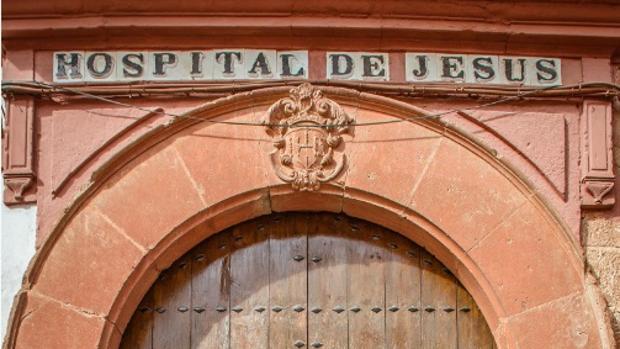 Fachada de la residencia de mayores de Montoro