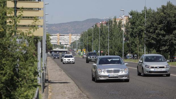 Avenida de Carlos III, en la capital