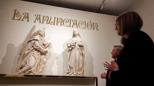 El grupo escultórico, expuesto en el Museo Arqueológico