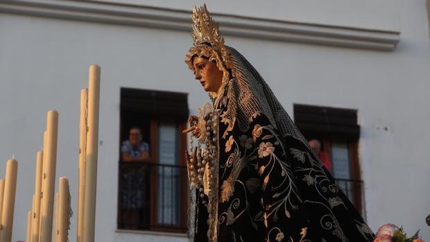 Virgen de la Soledad del Santo Entierro.