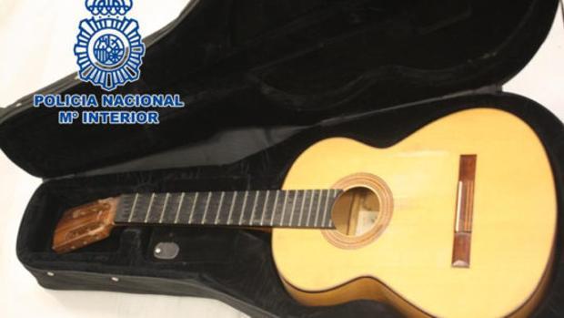 Guitarra robada