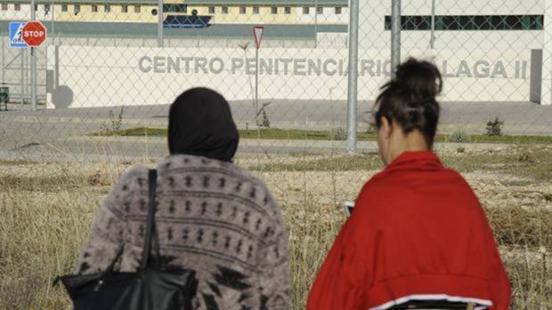 El exterior de la prisión de Archidona