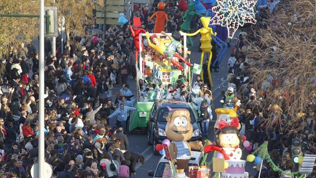 Cabalgata de Reyes en Córdoba