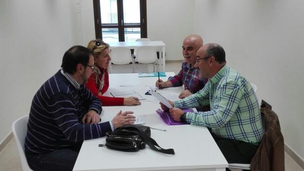 Reunión de la junta directiva de ACCA en Priego