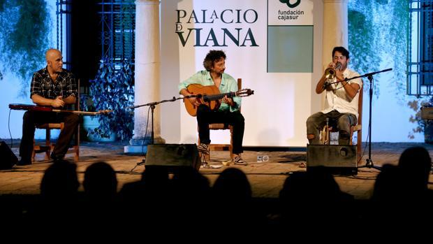 Actuación musical en Viana durante el mes de agosto