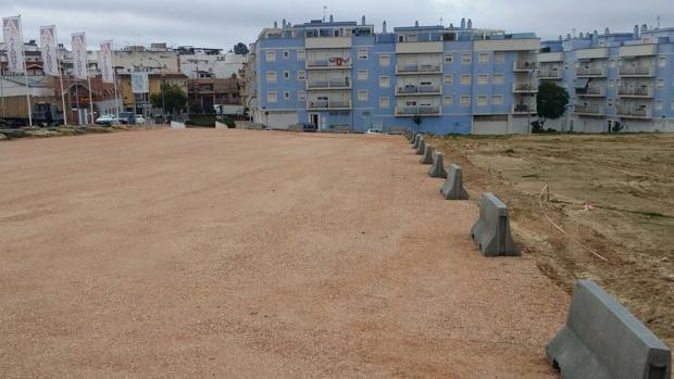 La nueva zona de aparcamiento