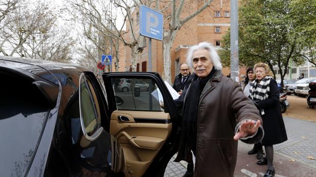Rafael Gómez, a su salida de los juzgados en una imagen de archivo