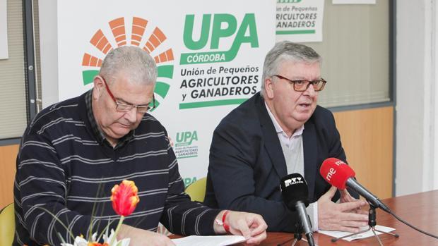 Rueda de prensa de UPA
