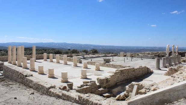 Yacimiento arqueológico de Torreparedones, uno de los reclamos turísticos de Baena