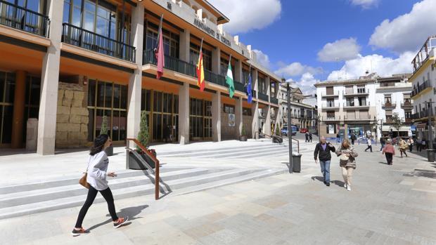 Fachada del edificio del Ayuntamiento de Córdoba