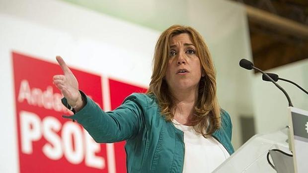 La presidenta de la Junta, Susana Díaz