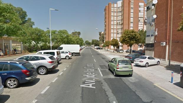 El accidente se produjo a última hora del martes en la Avenida de la Cinta