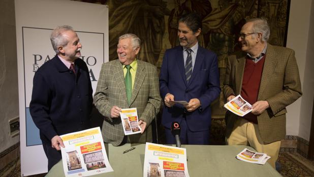 Presentación de las jornadas en el Palacio de Viana