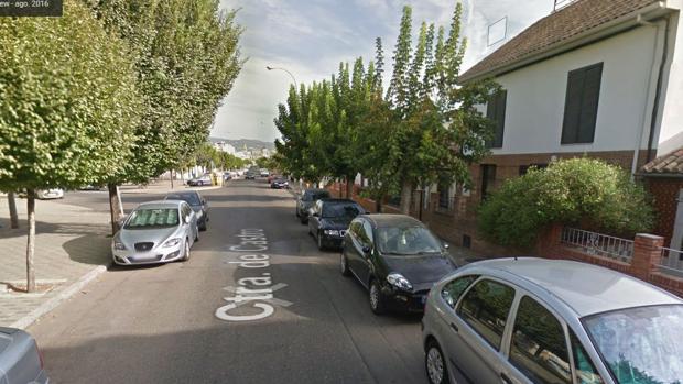 Calle Carretera de Castro, donde fue el choque entre el coche y el autobús