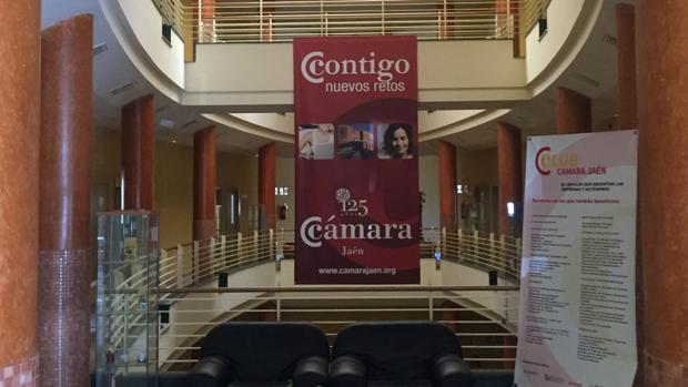 Sede de la Cámara de Comercio de Jaén.