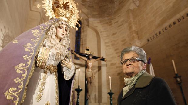Pilar Melguizo, hermana desde la Fundación de la Misericordia