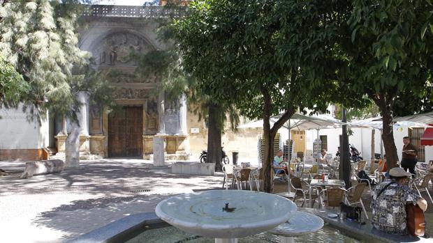 Antigua fachada del Museo Arqueológico de Córdoba