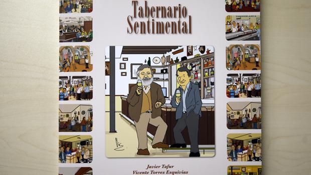 Viñeta con los autores del libro Javier Tafur y Vic