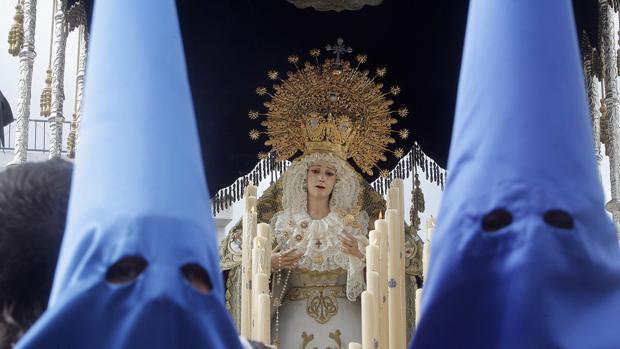 Virgen de la Piedad, de la hermandad del Prendimiento
