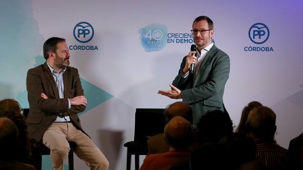 Adolfo Molina y Javier Maroto este miércoles en Córdoba