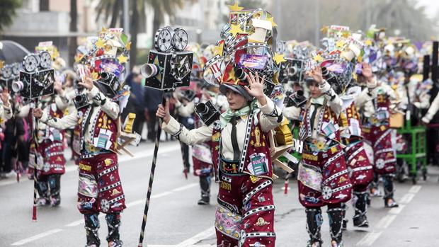Pasacalles durante la celebración del Carnaval de Córdoba del año pasado