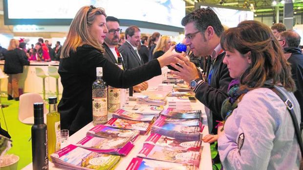 Expositor de Córdoba en Fitur