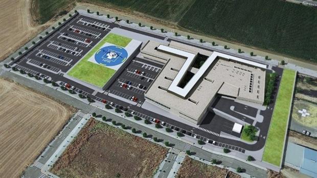 Infografía del nuevo hospital de Palma del Río