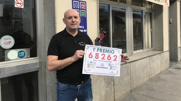 Establecimiento de Pozoblanco donde se vendió el primer premio de la Lotería
