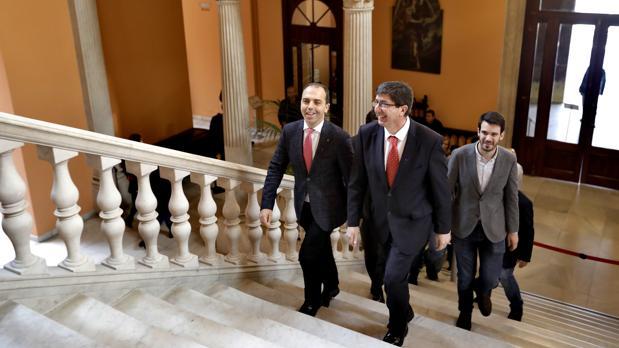 Juan Marín subraya que el PP ha dado por finalizada la legislatura en Andalucía