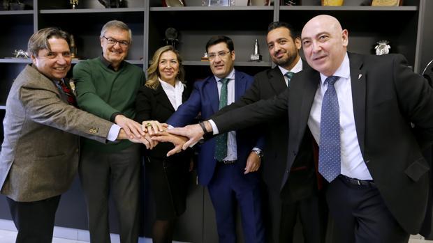 Jesús León preside el nuevo Consejo de Administración del Córdoba CF