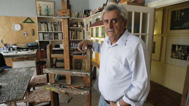 El pintor madrileño Tomás Egea
