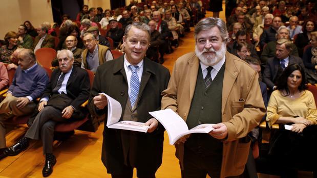 Vic y Javier Tafur, con su «Tabenario sentimental»