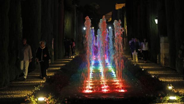 El recuperado espectáculo de luz y sonido del Alcázar de Córdoba